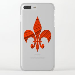 Renaissance Red Clear iPhone Case