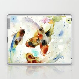 Watercolor Koi Pond Laptop & iPad Skin