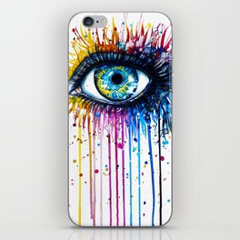 """Rainbow Eye"" iPhone Skin"