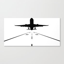 Takeoff Canvas Print