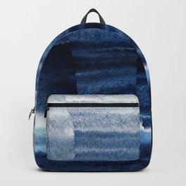 Blue Escape Watercolor Backpack