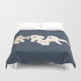 Kylie, tate, connor, and callie Duvet Cover