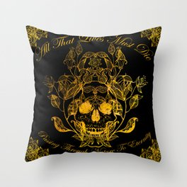 All That Lives Throw Pillow