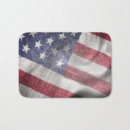 4th of July Fabric of America Bath Mat