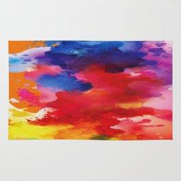 Watercolor Summer Rug