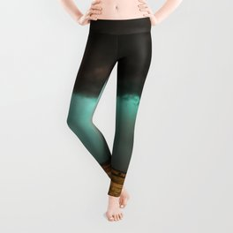 Jewel of the Plains - Storm in Texas Leggings