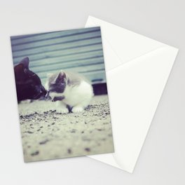Midnight and Precious  Stationery Cards
