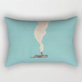 Torn Around — Smoke Rectangular Pillow