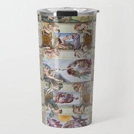 "Michelangelo ""Sistine Chapel ceiling"", Travel Mug"