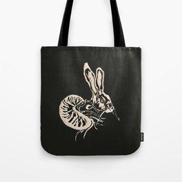 liebres de medianoche (negro) Tote Bag