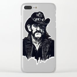 Lemmy Clear iPhone Case