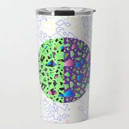 floral funk Travel Mug
