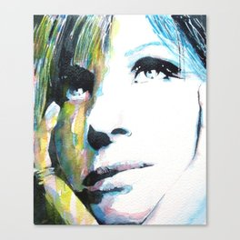 Barbra Streisand Canvas Print