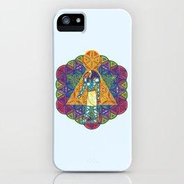 Sacred Geometry Thoth Mandala II iPhone Case