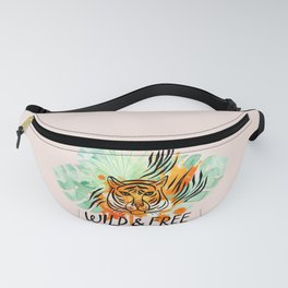 Wild and Free Tiger Fanny Pack
