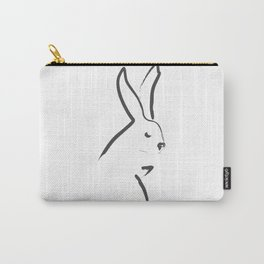 Zen Snow Bunny Carry-All Pouch