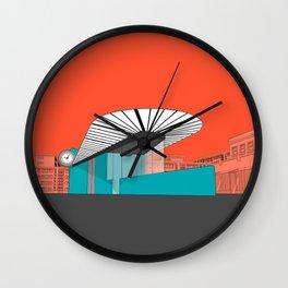 Turquoise Island Wall Clock