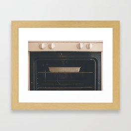 oven Framed Art Print