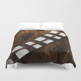 Chewie Wookie Utility Belt - Gold Edition Duvet Cover