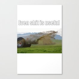 What About You? Canvas Print