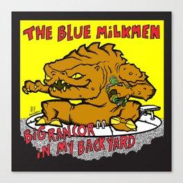 Sihfits - The Blue Milkmen Canvas Print