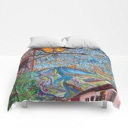 A Lamp in Antigua Comforters