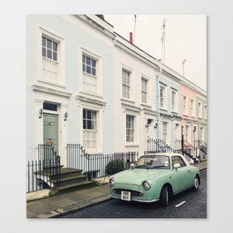 Figaro in Notting Hill, London Canvas Print