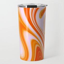 Abstract Fluid 14 Travel Mug
