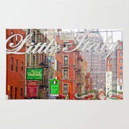 Welcome to Little Italy, NYC Rug