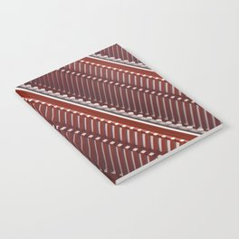 Pagoda roof pattern Notebook