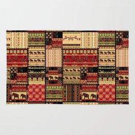 African patchwork. Rug