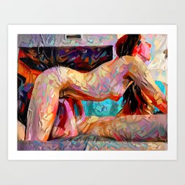Touch Me Deeply Art Print