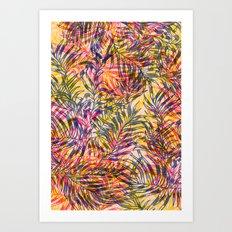 plants everywhere Art Print