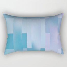 Global Dither Abstract Rectangular Pillow