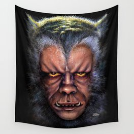 The Werewolf Curse Wall Tapestry