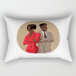 Maxine Shaw and Kyle Barker / Living Single Rectangular Pillow
