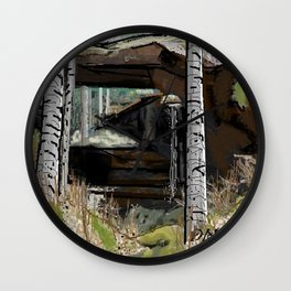 Natural Bridge Alabama Wall Clock