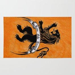 Amazon Etruria's orange flag Rug