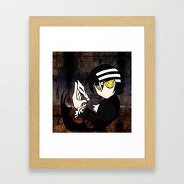 Child of Shinigami Framed Art Print