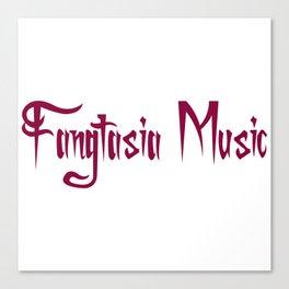 Fangtasia Music Logo Canvas Print