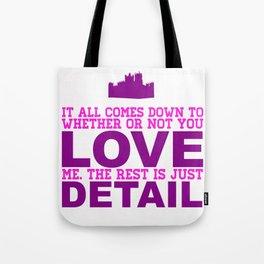 Downton Abbey (Branson) Tote Bag