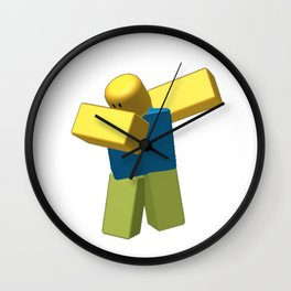 Coolest Roblox Dab Cool Wall Clock