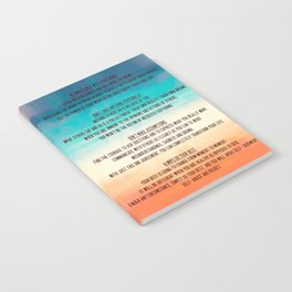 The Four Agreements 13 Notebook