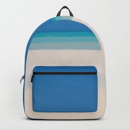 Dreamt Tropical Beach Design Backpack