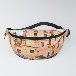 Catanzaro: buildings of the historic center with cars Fanny Pack