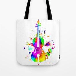Violin Tote Bag