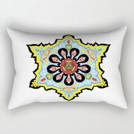 Alright linda belcher mandala kaleidoscope Rectangular Pillow