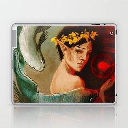 Pisces zodiac tarot card merrill dragon age Laptop & iPad Skin