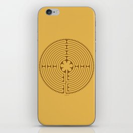 Chartres Labyrinth iPhone Skin