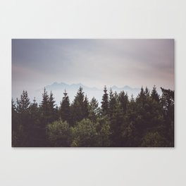 Mountain Range - Landscape Photography Canvas Print